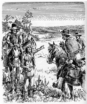 What effect did the European settlement have on American Indians?