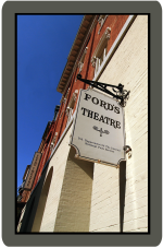 Fords Theatre and Sign