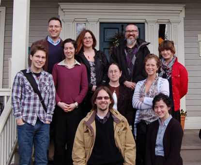 Group photo of the 2011 Public History Field School