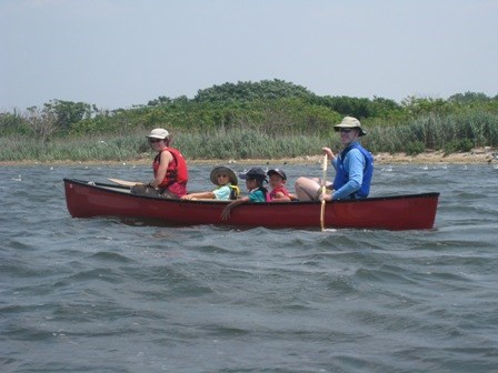 One of the best ways to enjoy the wonders of Jamaica Bay is in a canoe or kayak, at your oewn pace.