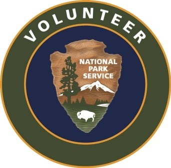 National Park Service Volunteer-In-Park logo.