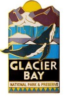 Glacier Bay National Park Pin