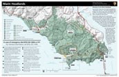 Marin Headlands map