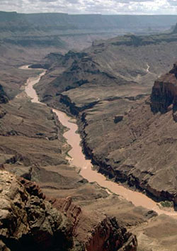scenic south rim cape solitude colorado river below LCR temple butte lava chuar valley NPS Photo by Tom Bean.