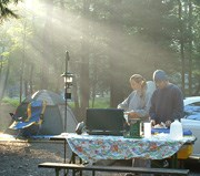 Campsite in Cades Cove