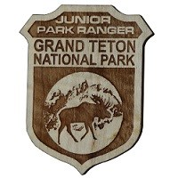 Grand Teton National Park Junior Ranger Badge