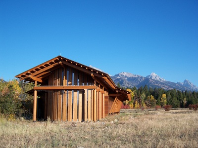 Laurance S. Rockefeller Preserve Visitor Center (NPS Photo)