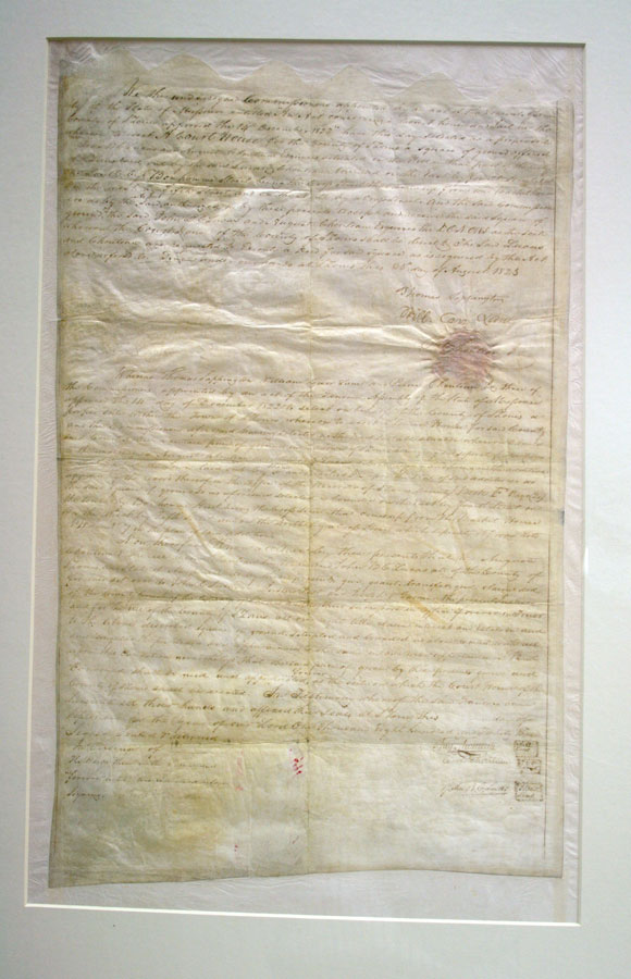 Old Courthouse Deed