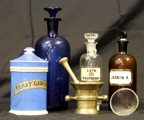 Artifacts from the Meyer Brothers Drug Company