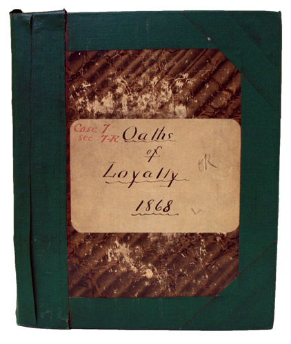 Oath of Loyalty Book