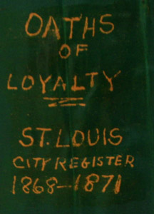 Spine of the Oath of Loyalty Book
