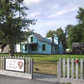 Modern photo of the Moore Homestead