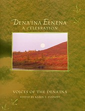 book cover showing a tundra landscape