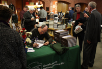 George L. Painter Looking for Lincoln Lectures book signing