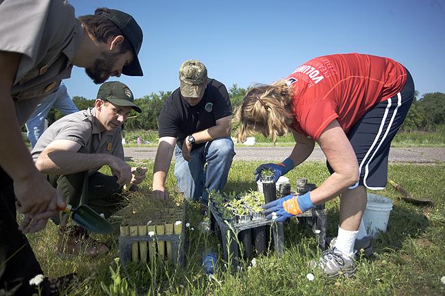 Volunteers Make The Seed Starter Program Grow