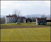 <i>L'Hermitage<i> (Best Farm) as seen from Georgetown Pike