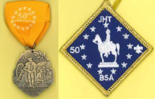 BSA Medal & Patch
