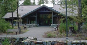 North Cascades Visitor Center near Newhalem