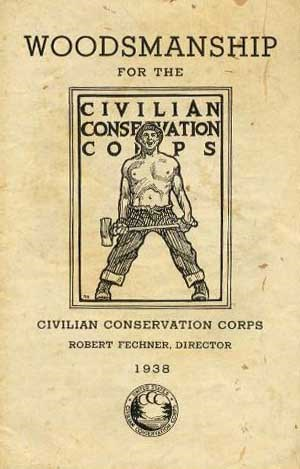Civilian Conservation Corps booklet on Woodsmanship
