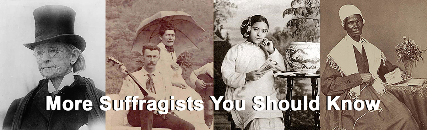More Suffragists You Should Know banner