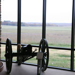 Mountain Howitzer in the Visitor Center
