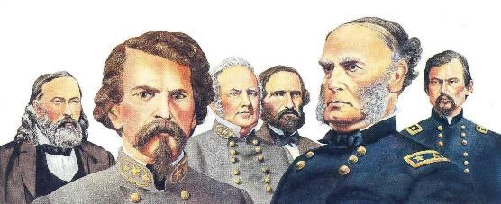Generals of the Battle of Pea Ridge