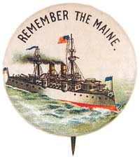 Remember the Maine pin
