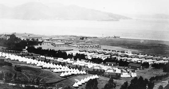 Presidio and East Cantonment around 1900