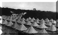 Brigadier General Henry Merriam was the commanding general of the Department of California in 1898. The living conditions at Camp Merriam were considered to be better than Camp Merritt, just south of the Arguello Boulevard Gate.