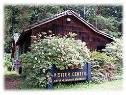 Prairie Creek Visitor Center