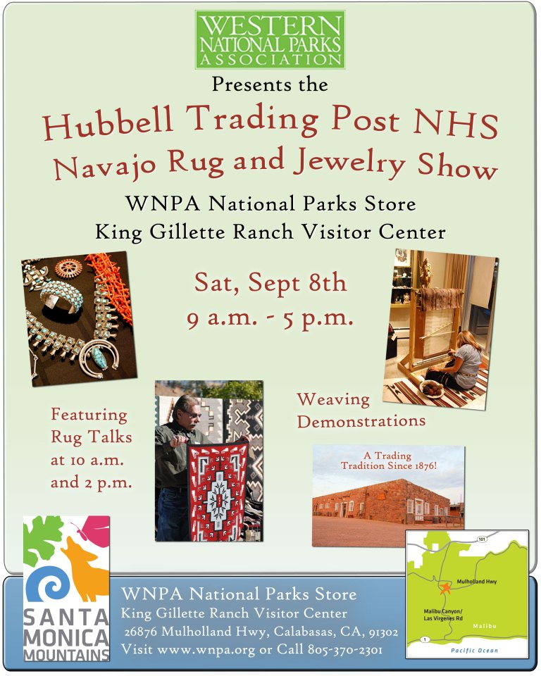 Hubbell Trading Post event flier.