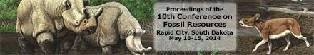 10th fossil conference banner