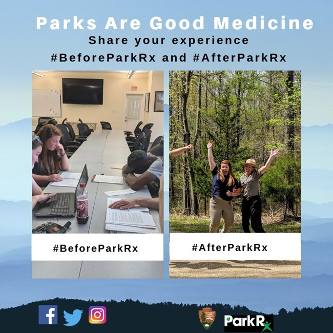#BeforeParkRx and #AfterParkRx