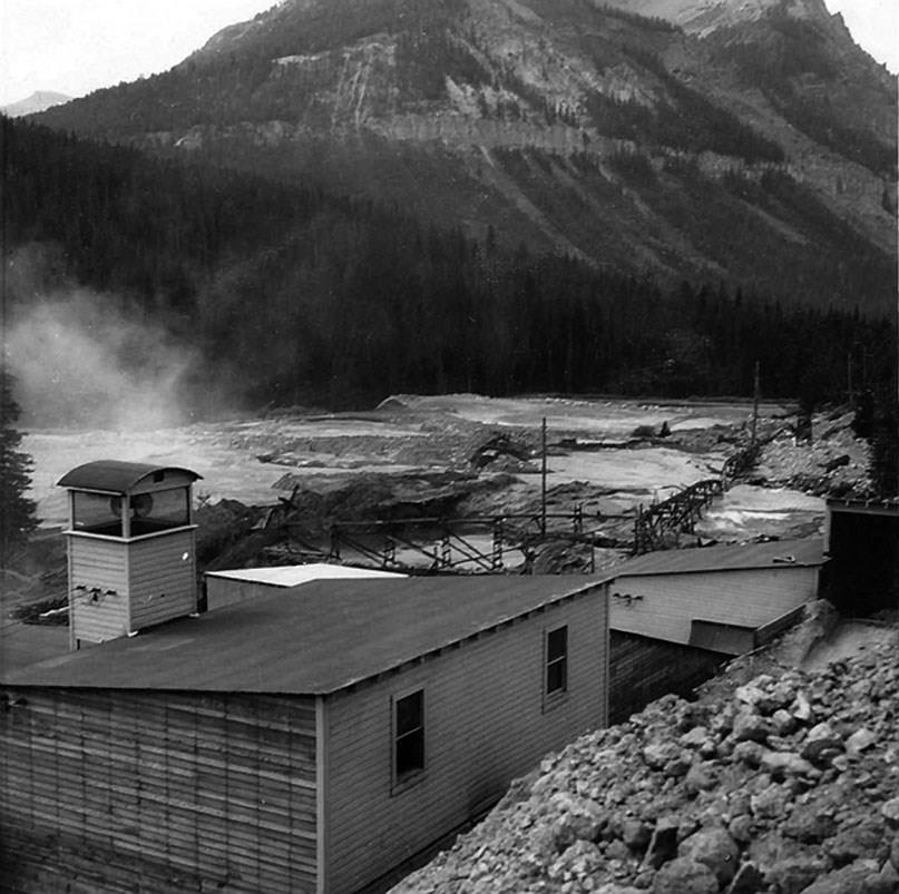 McLaren Gold Mine near Cooke City, Montana.