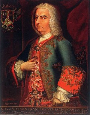 Juan Francisco de Guemes y Horcasitas was the viceroy of New Spain that authorized the San Xavier missions.