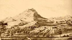 Ilustración de Calabazas en 1853. Cortesía del Servicio de Parques Nacionales.