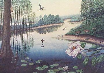 Prehistoric Swamp Mural