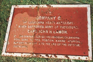 1st Louisiana Heavy Artillery, Co. C Marker