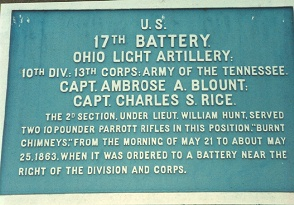 17th Ohio Battery Tablet