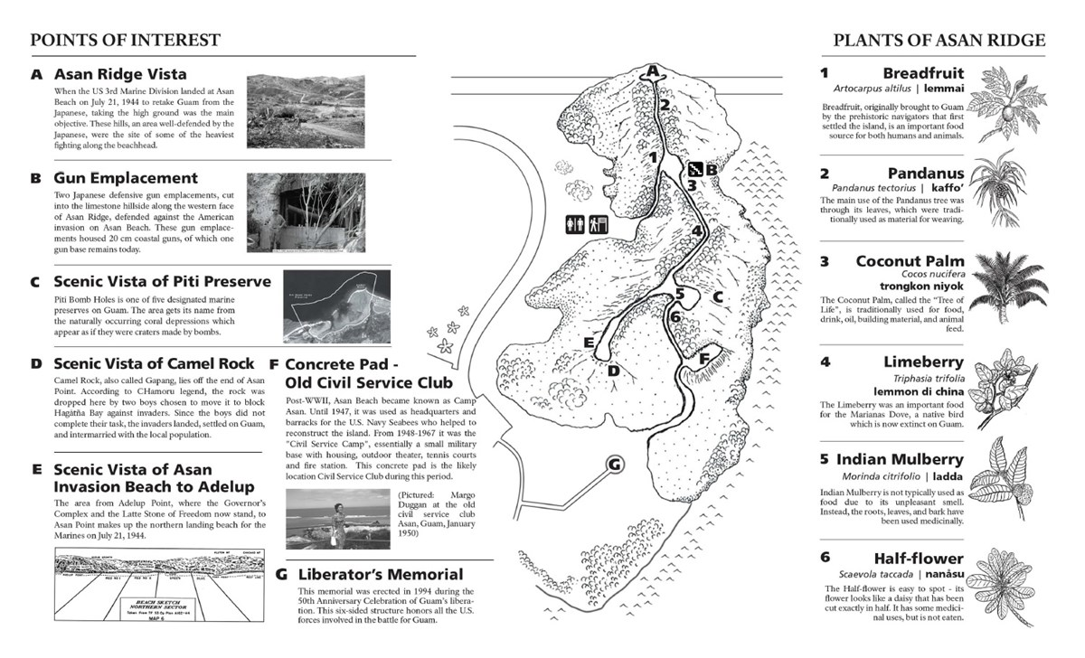Asan Ridge Trail Booklet - War In The Pacific National Historical