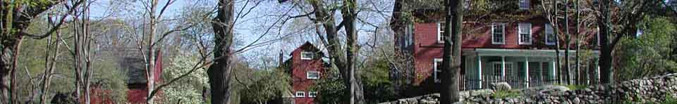 From Right to Left: Weir House, Weir Studio, and Young Studio