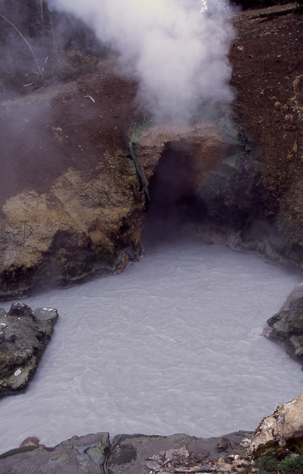 Dragon's Mouth hot spring