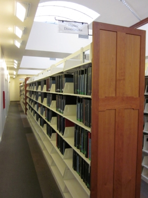 Dissertation library research
