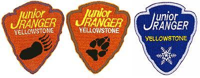junior ranger patches