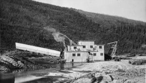 Woodchopper dredge, circa 1937