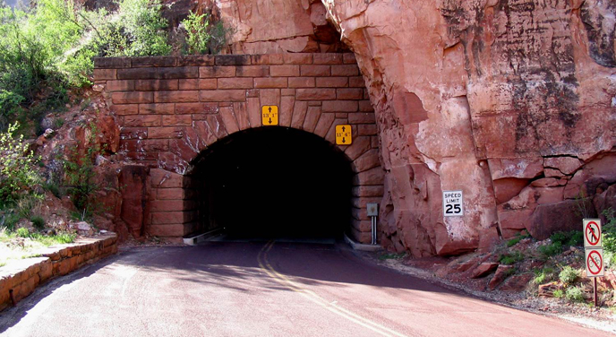 Zion-Mt Carmel Tunnel